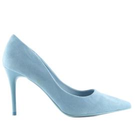 Szpilki damskie niebieskie GF-JX78 L.BLUE 2