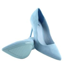 Szpilki damskie niebieskie GF-JX78 L.BLUE 3