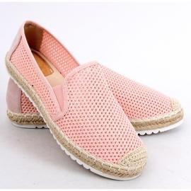 Slip-on espadryle różowe BB03P Pink 3