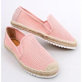 Slip-on espadryle różowe BB03P Pink 4