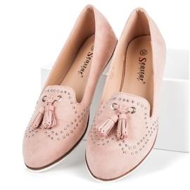 Seastar Stylowe obuwie na wiosnę różowe 5
