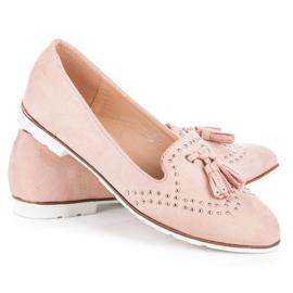 Seastar Stylowe obuwie na wiosnę różowe 4