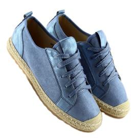 Trampki espadryle niebieskie BB02P L.BLUE 5