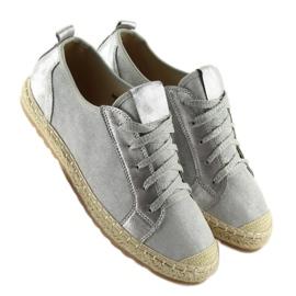 Trampki espadryle szare BB02P Grey 5