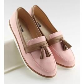 Mokasyny damskie różowe 9167 Pink 5