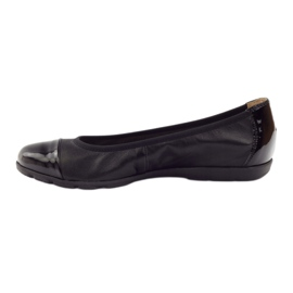 Caprice wygodne balerinki 22152 czarne 2