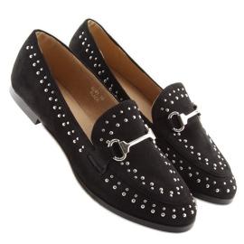 Mokasyny damskie czarne G241 Black 4