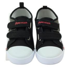 American Club Trampki tenisówki dziecięce American wkładka skórzana 4