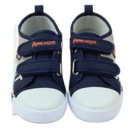 American Club Trampki tenisówki American wkładka skórzana 4