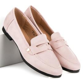 Sweet Shoes Różowe Wsuwane Mokasyny 1