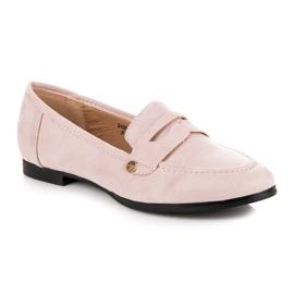 Sweet Shoes Różowe Wsuwane Mokasyny 2