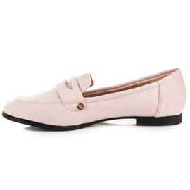 Sweet Shoes Różowe Wsuwane Mokasyny 3