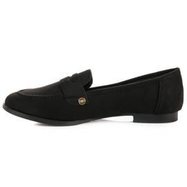 Sweet Shoes Czarne wsuwane mokasyny 4