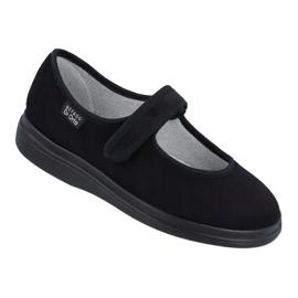 Befado obuwie damskie pu 462D002 czarne 1