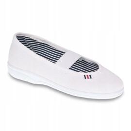 Befado obuwie dziecięce 274X013 białe 1