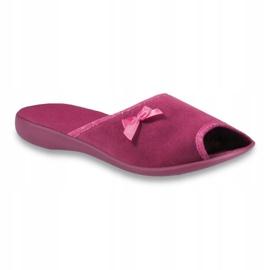 Befado obuwie damskie pu 254D084 różowe 1