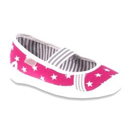 Befado obuwie dziecięce 193X063 różowe 1