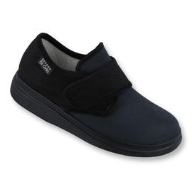Befado obuwie męskie  pu 131M004 czarne 1