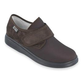 Befado obuwie męskie  pu 131M005 brązowe 1