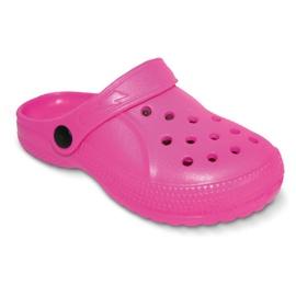 Befado inne obuwie dziecięce - róż 159X001 różowe 1