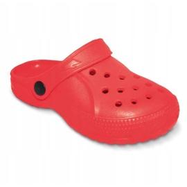 Befado inne obuwie dziecięce - czerwony 159Y005 czerwone 2