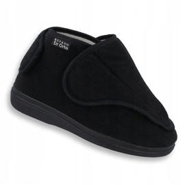 Befado obuwie damskie pu orto 163D002 czarne 1