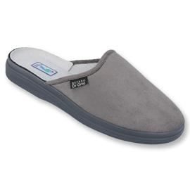 Befado obuwie męskie  pu 125M009 szare 1