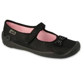 Befado obuwie dziecięce 114Y240 czarne 1