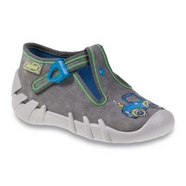 Befado szare obuwie dziecięce 110P316 1