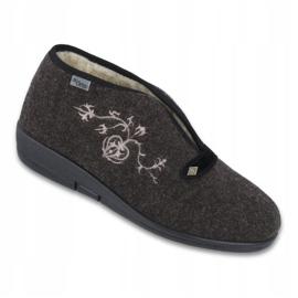 Befado obuwie damskie pu 031D027 brązowe 1