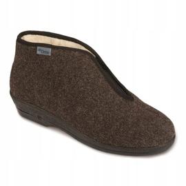 Befado obuwie damskie pu 041D048 wielokolorowe szare 1