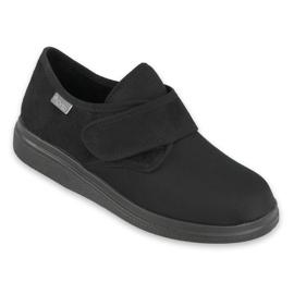 Befado obuwie damskie pu 036D006 czarne 1