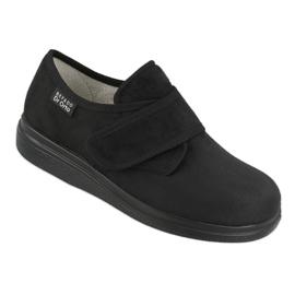 Befado obuwie damskie pu 036D007 czarne 1