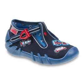 Befado obuwie dziecięce 110P305 granatowe 1