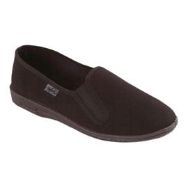 Befado obuwie męskie pvc 001M060 czarne 1