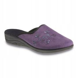 Befado obuwie damskie pu 552D006 fioletowe 1