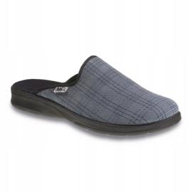 Befado obuwie męskie pu 548M002 szare 1