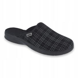 Befado obuwie męskie pu 548M003 czarne 1