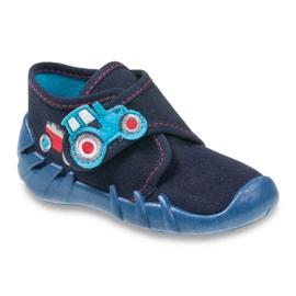 Befado obuwie dziecięce 523P009 granatowe 1