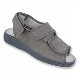 Befado obuwie męskie pu 733M006 szare 1