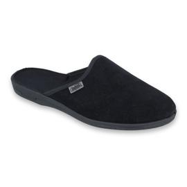 Befado obuwie męskie pvc 715M009 czarne 1