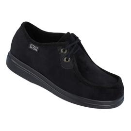 Befado obuwie męskie pu 871M004 czarne 1