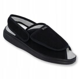 Befado obuwie damskie pu 983D004 czarne 1