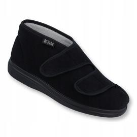 Befado obuwie damskie  pu 986D003 czarne 1