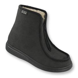 Befado obuwie  męskie pu 996M008 czarne 1