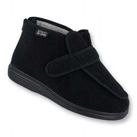 Befado obuwie damskie pu orto  987D002 czarne 1