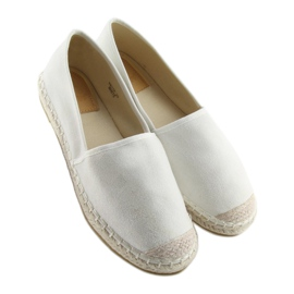 Espadryle full colour białe BB17P white 4