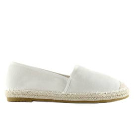 Espadryle full colour białe BB17P white 3