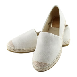 Espadryle full colour białe BB17P white 6