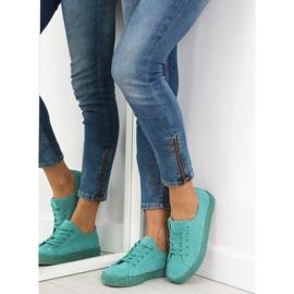Espadryle full colour turkusowe K1830201 Azul zielone 5